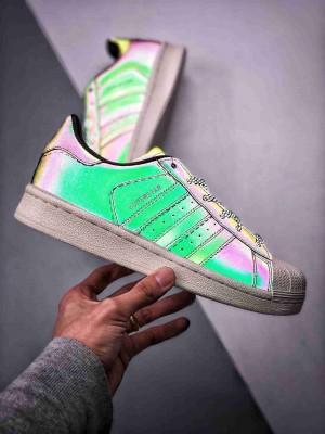 """Adidas Superstar """"DEMON""""  """"夜魔侠 变色龙"""" 贝壳头 独家首发 来自西方的""""夜魔侠"""""""