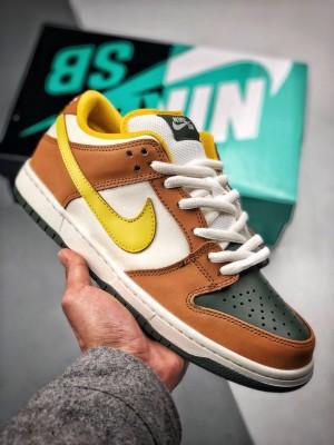 Nike Zoom Dunk SB 黄绿蒸汽机 官方货号:854866-209