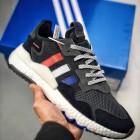 Adidas Nite Jogger 2019 Boost  白红蓝夜行者 货号:DB3361