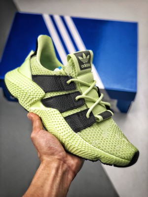 Adidas Originals Prophere  恐惧鲨鱼 荧光黑绿