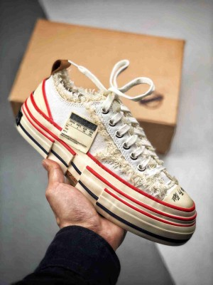 吴建豪 x VESSEL 手工制硫化帆布鞋   古法手工艺与皮鞋工艺完美结合制造  世界上第一双软木酥化鞋
