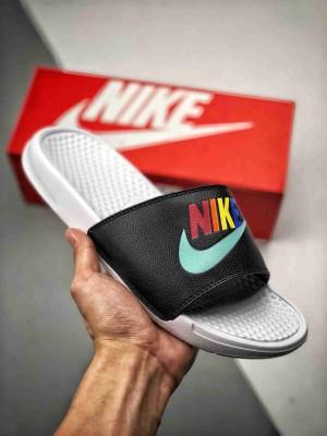 【原厂渠道 专柜同源】 Nike Benassi 🌈彩虹鸳鸯 全新夏日澡堂拖 拖鞋 官方同步上市