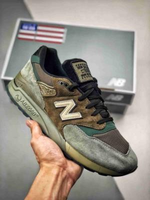 原厂渠道 与正品无任何区别‼️ New Balance 998 军绿 NB998系列 美潮高端原装 原装套楦 真正的正品修长鞋型