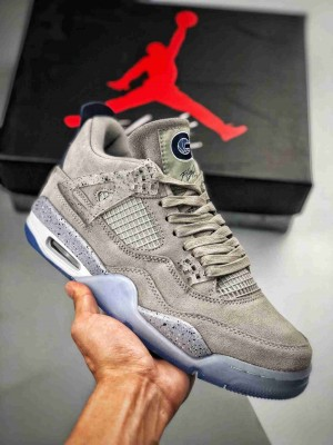 Air Jordan 4 Retro Georgetown Hoyas 乔治城大学灰蓝 PE限量款