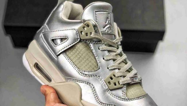 "Air Jordan 4 GS ""Pearl""  乔丹四代 ""珍珠""货号:742639-045"