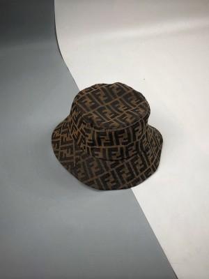 FENDI 芬迪  FD满印LOGO渔夫帽(礼盒包装)