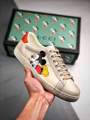 G家 Ace Embroidered Low-Top 迪士尼联名