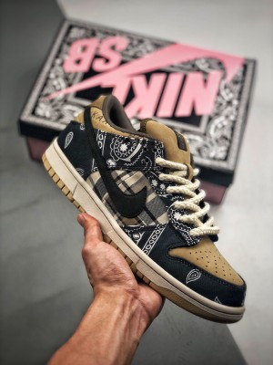 Travis Scott × SB Dunk腰花果