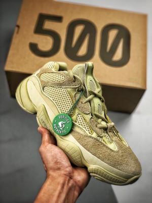Adidas Yeezy500 Moon Yellow 沙漠黄