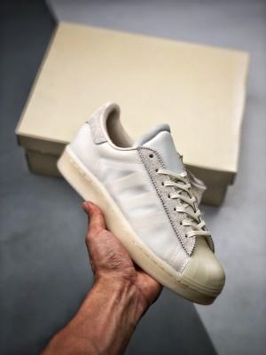 Eason x AD Superstar 陈奕迅联名 侧透白色贝壳头板鞋 50周年超限量鞋款