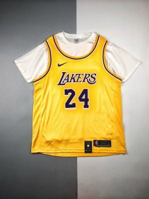 """芯片版本🧐 Nike NBA 20ss 洛杉矶湖人球迷限定版""""24""""号球衣"""
