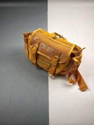 Supreme 20SS 48th Waist Bag 3M迷彩网眼格面腰包 黑色 红色 黄色和蓝迷彩