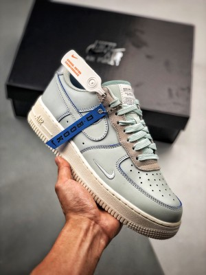 Air Force 1 LV8 Devin Booker Bule  德文布克灰蓝刮刮乐