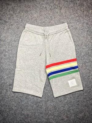 TB 20ss 经典四杠彩虹色织短裤