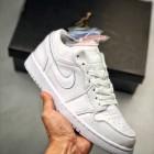 Air Jordan 1 LOW 纯白鸳鸯 乔1 低帮休闲板鞋