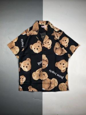 PA 19ss 断头熊印花短袖衬衫