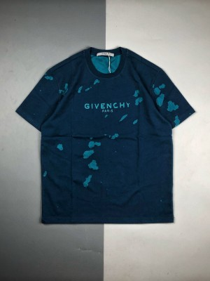Givenchy/纪梵希 20ss 大破洞徽标字母印花短袖