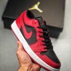 Air Jordan 1 反转黑红低帮