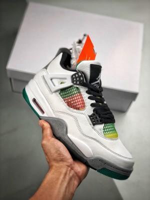 """Air Jordan 4 """"Mushroom""""  白彩虹"""