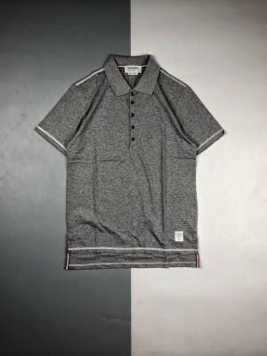 Thom Browne 20ss 四针六线反车线Polo短袖