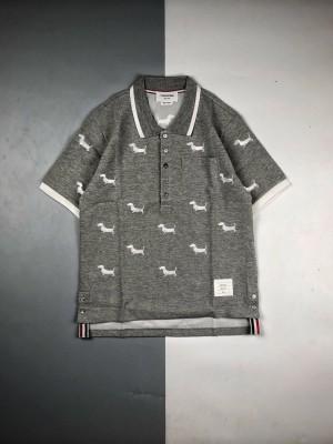 Thom Browne 20ss 小狗刺绣Polo短袖