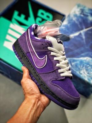 Concepts x Nike SB Dunk Low 联名  紫龙虾
