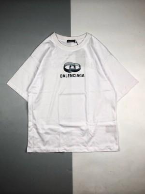 Balenciaga 定情戒指圆领短袖T恤
