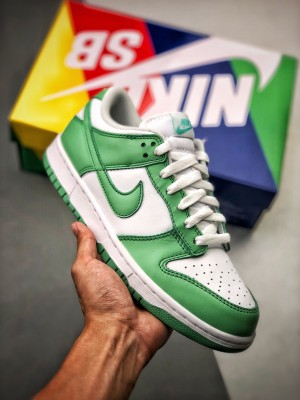 NK SB Dunk Green Tender powder  2021 荧光淡绿