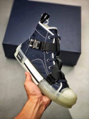 纯正莞产出品 极力推荐️ 🔝 Dior B23 Oblique High 牛仔机能扣 迪奥机能