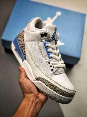 Air Jordan 3 Retro Valor Blue 北卡蓝