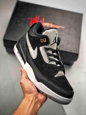 Air Jordan 3 Tinker 黑手稿