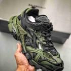 BALENCIAGA Track 2 Sneakers 巴黎世家 轨道镂空二代 黑绿