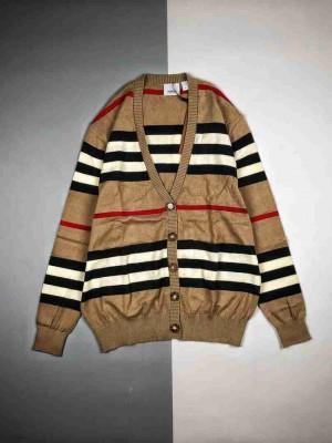 Burberry巴宝莉BBR 19FW羊毛针织毛衣开衫