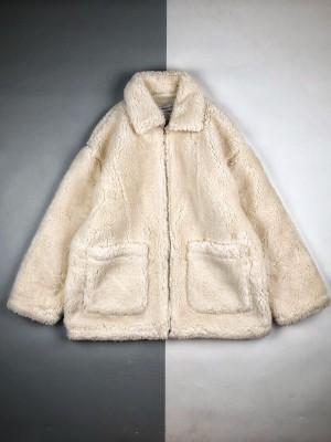 Andrea Martin 19FW 雪山印花皮草外套