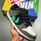 NK SB Dunk Low 黑绿大象🐘