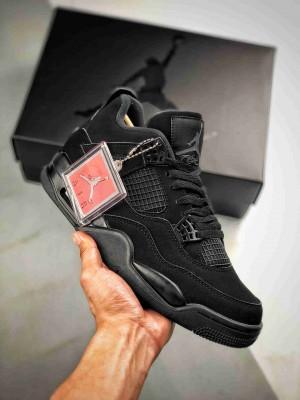 """Air Jordan 4 Retro """"Black Cat""""   黑武士 / 黑猫"""