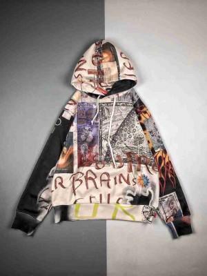 Supreme 20FW LSD Spells Hooded艺术家涂鸦帽衫连帽卫衣