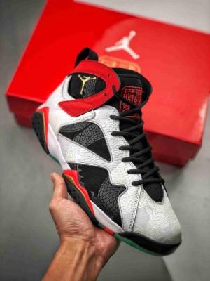 "Air Jordan 7 Retro GC黑白红 AJ7""紫禁之巅"""