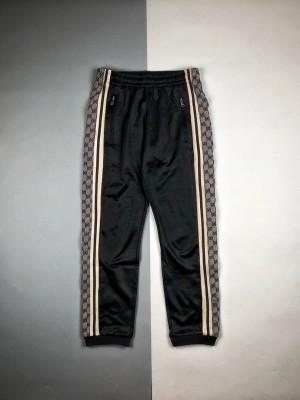 Gucci/古驰19Fw 蛇纹织带长裤