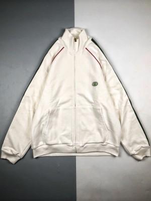 Gucci/古驰 20Fw 红绿织带长袖开衫夹克外套