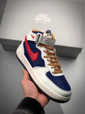 Air Force 1 MID 蓝橙中邦