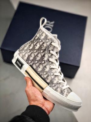 """Dior B23 Oblique Top Sneakers 迪奥""""CD重影"""""""