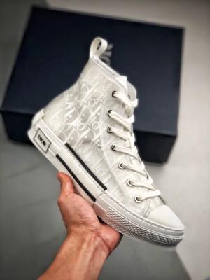 Dior B23 Oblique High Top Sneakers 迪奥