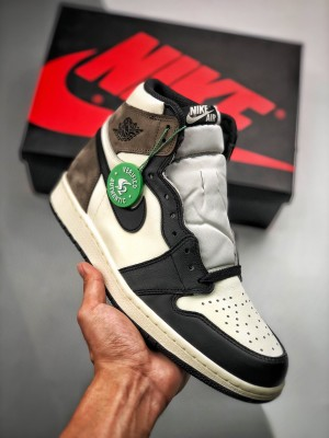 "Air Jordan 1 Retro ""Dark Mocha"" 小倒钩/摩卡咖啡色"