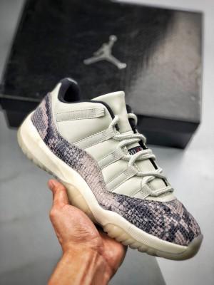 "Air Jordan 11 Low SE ""Snakeskin"" 白蛇"