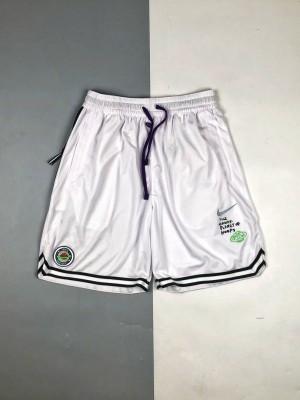 NK 21SS 涂鸦彩绘环保地球LOGO网眼篮球短裤