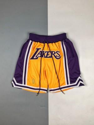 JUST DON 21SS 洛杉矶湖人篮球短裤