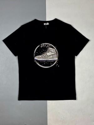 Dior/迪奥 21ss 球鞋徽标印花短袖