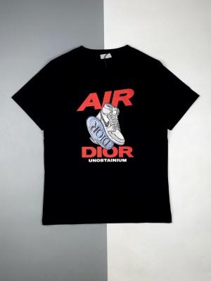 Dior/迪奥 21ss Air球鞋徽标印花短袖