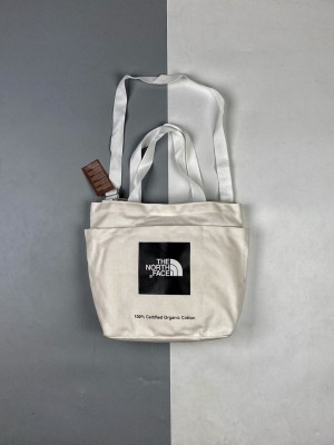 THE NORTH FACE/北面 21SS LOGO字母印花帆布包 可盐可甜
